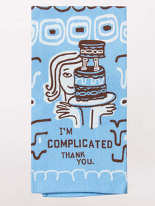 I'm Complicated Tea Towel - Pookipoiga