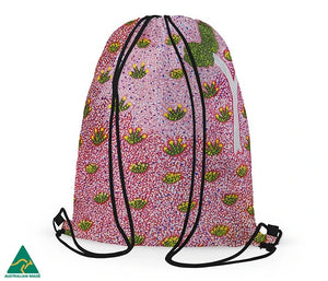 Alperstein Designs - Alana Holmes drawstring bag - last minute gift idea - melbourne
