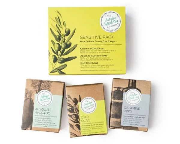 Sensitive Skin - 3 Soap Pack - Pookipoiga