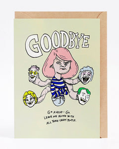 Wally Paper Co Crazy Goodbye -Cards