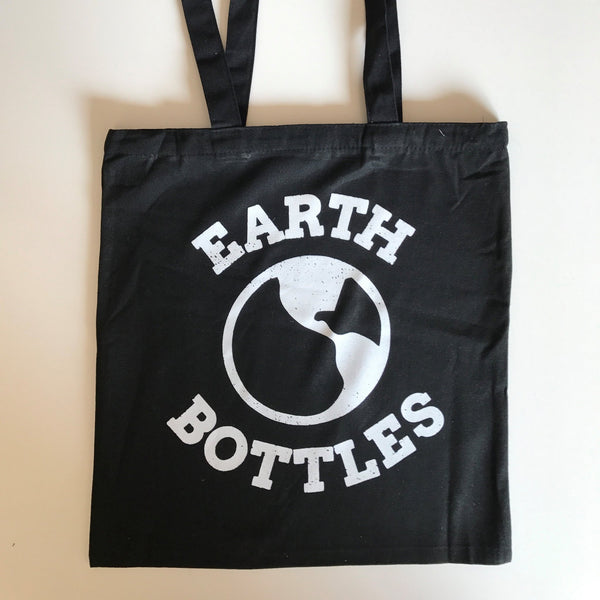 Earth Bottle Plastic Sucks Tote Bag -Tote Bag Melbourne