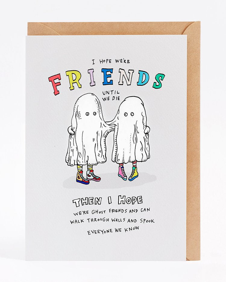 Wally Paper Co Ghost Friends -Cards