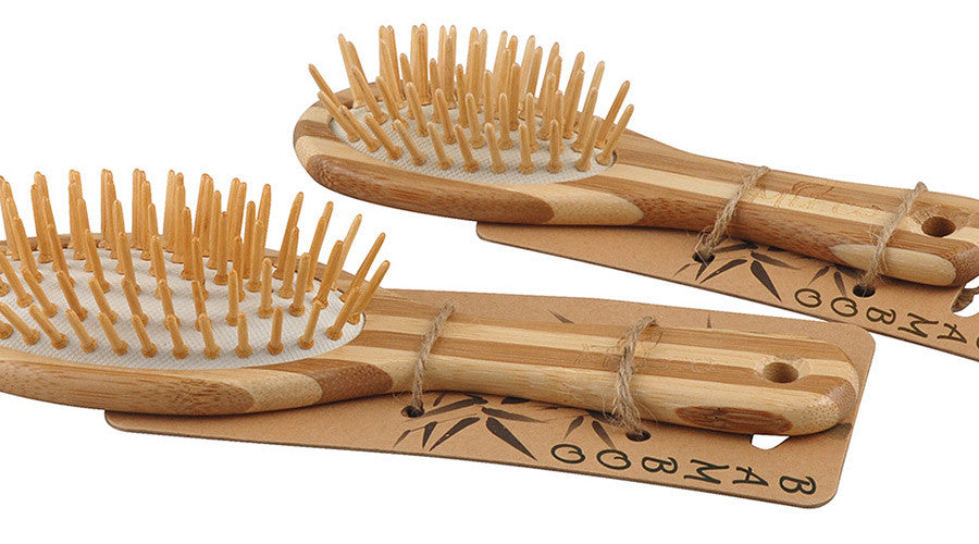 Aroha Earth Bamboo Hairbrush - Large -Hairbrush