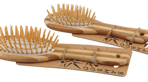 Aroha Earth Bamboo Hairbrush - small -Hairbrush