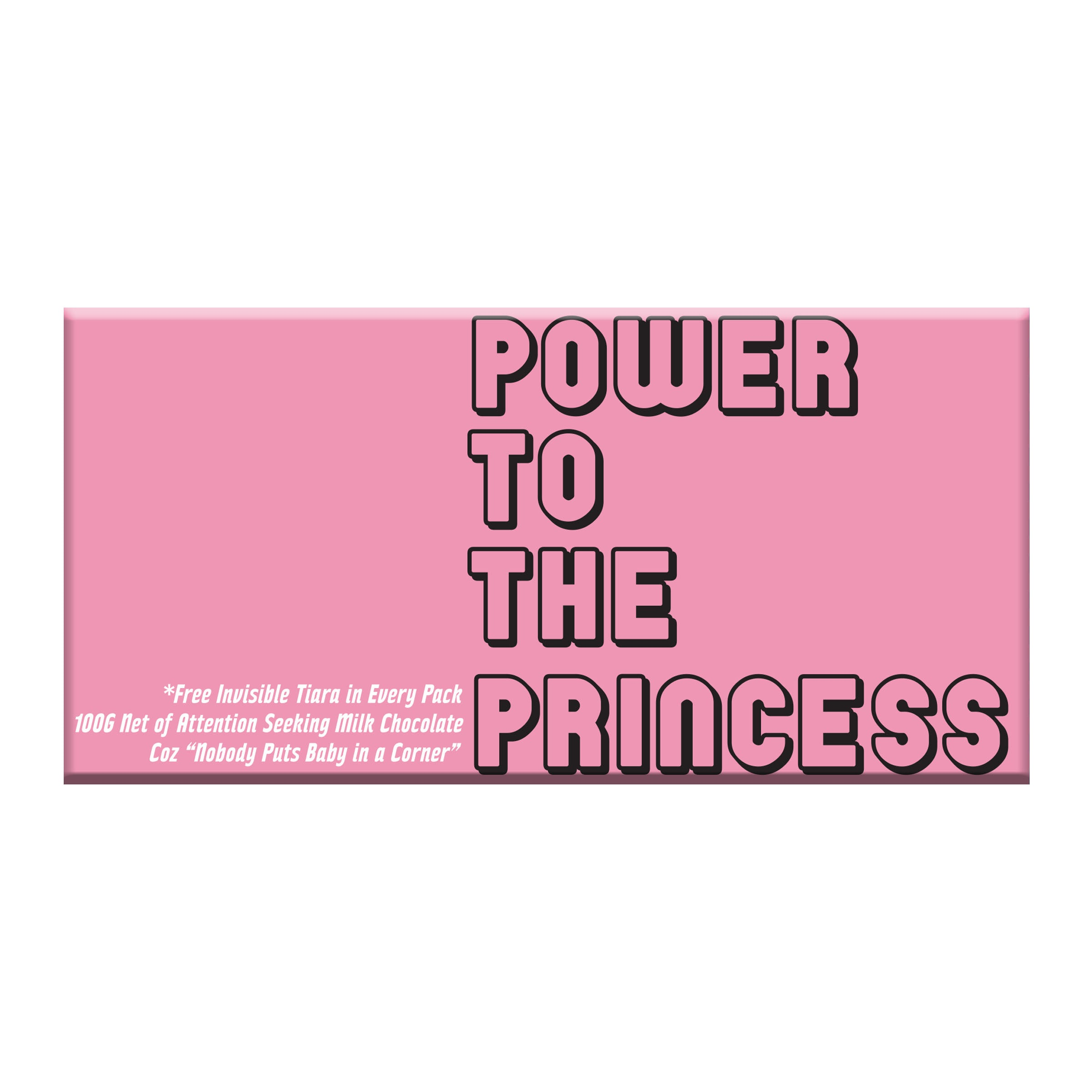 BellaBerry Power to the Princess Milk Chocolate -Chocolate
