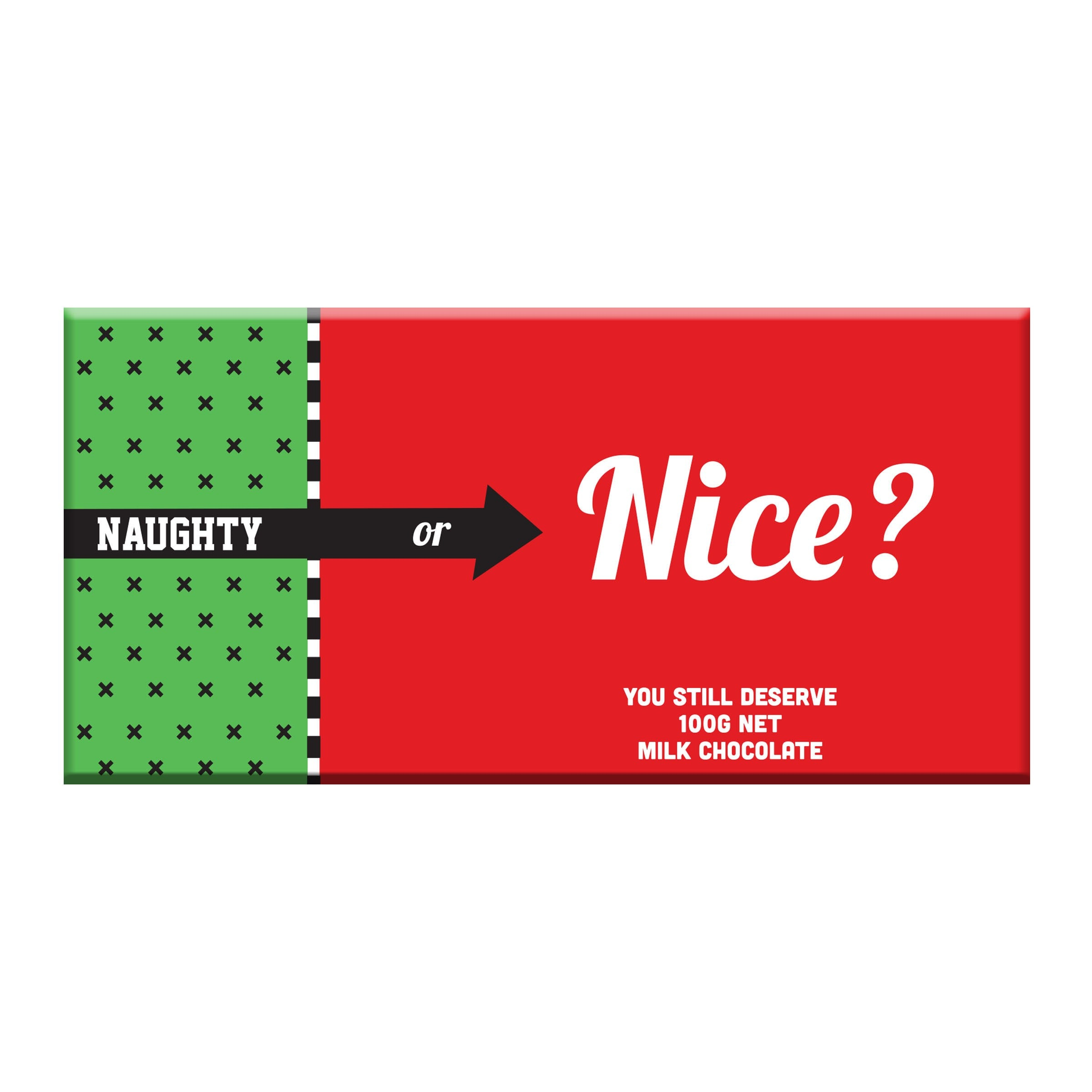 Naughty or Nice ? Milk Chocolate - Pookipoiga