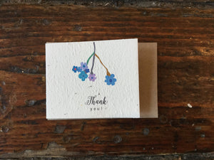 Planet Go Round Thank You Seed Card (Small) -Cards