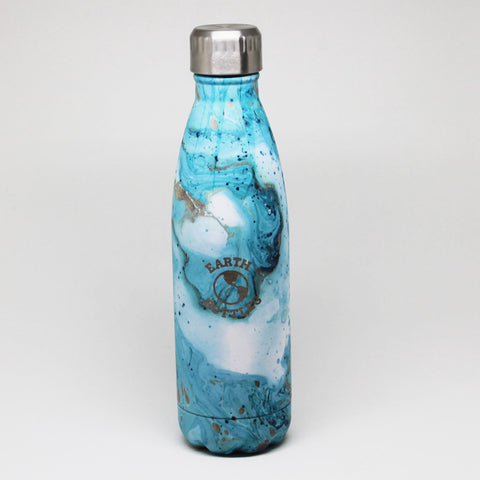 Blue Marble Clean Ocean Earth Bottle - last minute gift idea