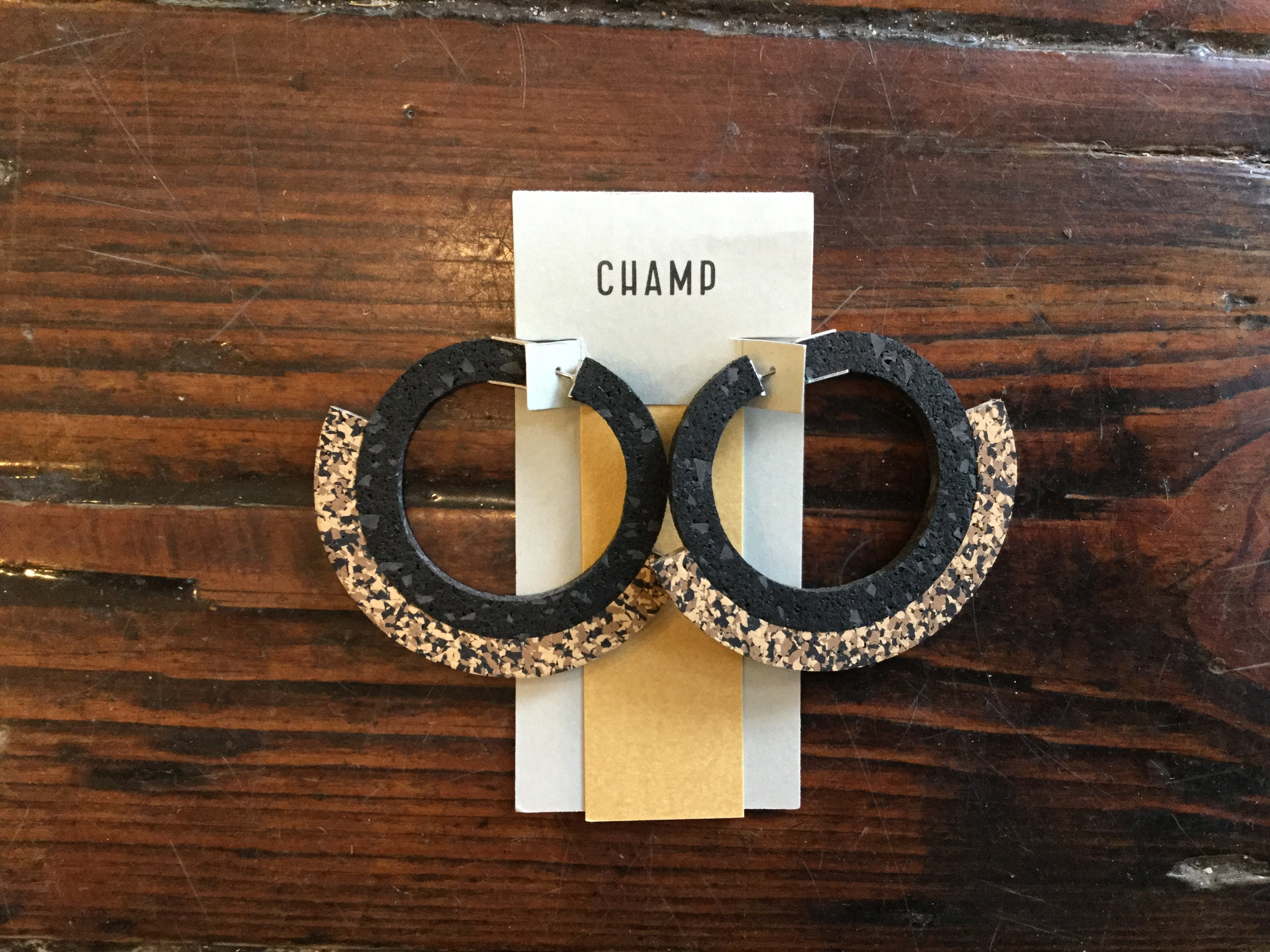 Champ co Sunrise Hoops -Earrings
