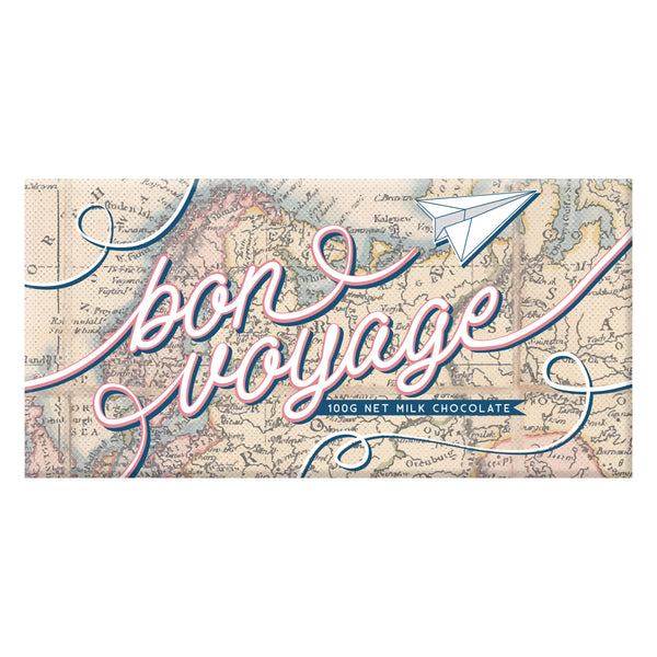 Bon Voyage Map Chocolate - Australia