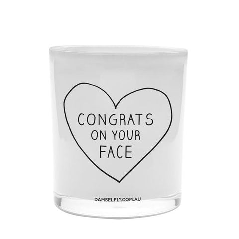 Congrats on Your Face - last minute gift idea