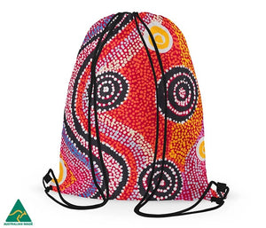 Alperstein Designs - Otto Sims drawstring bag - last minute gift idea - melbourne