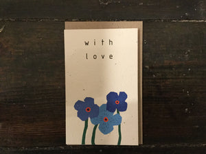 With Love Seed Card - Pookipoiga
