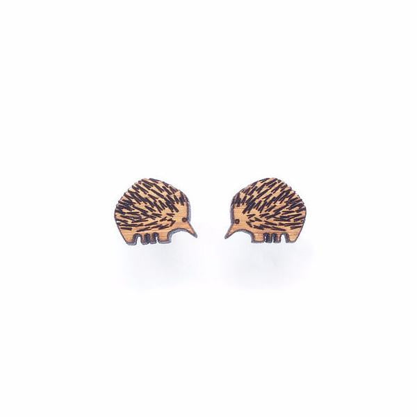 One Happy Leaf - Echidna Earrings - last minute gift idea - melbourne