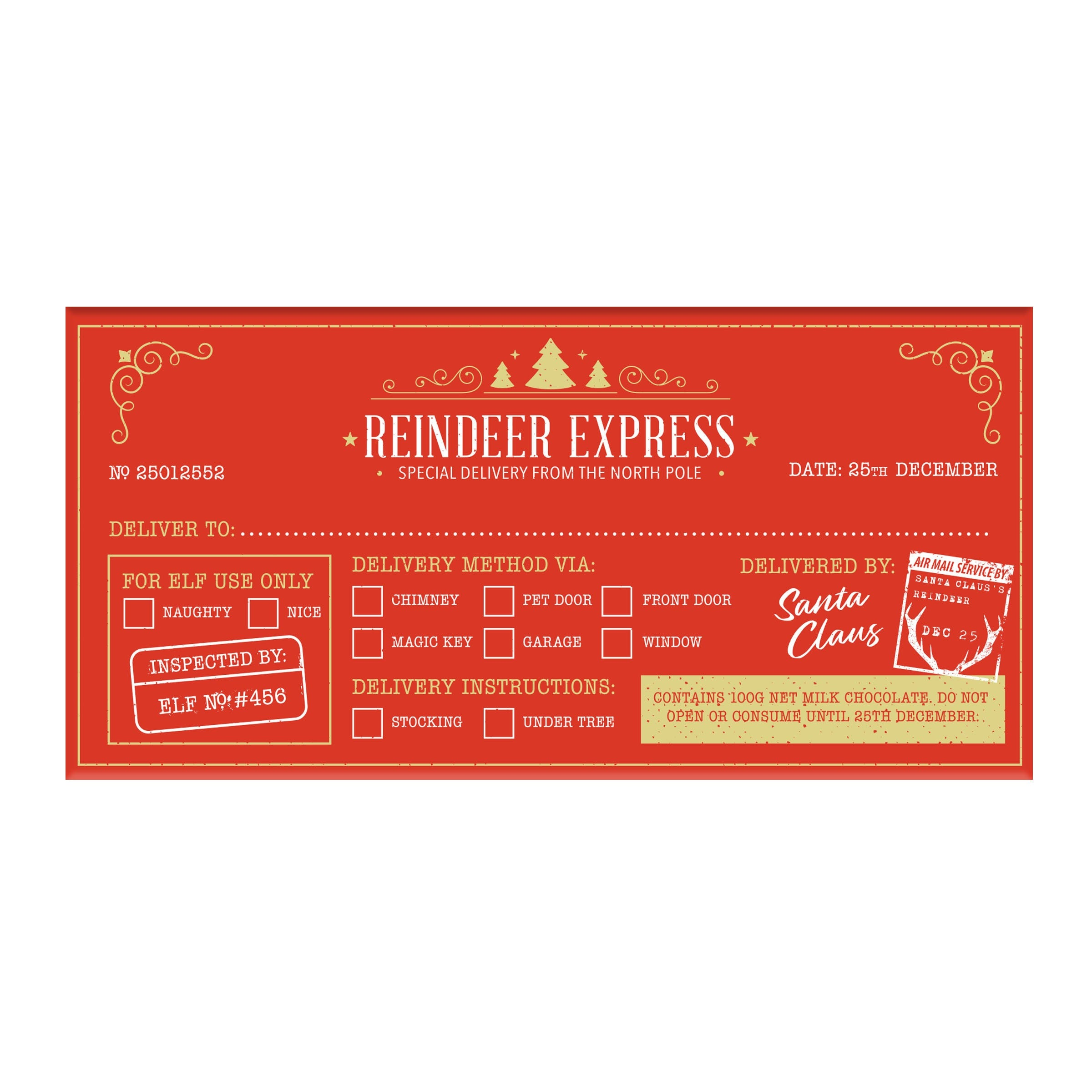 BellaBerry - Reindeer Express Milk Chocolate - last minute gift idea - melbourne