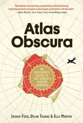 Hardie Grant Books Atlas Obscura Travel Book -Books Melbourne