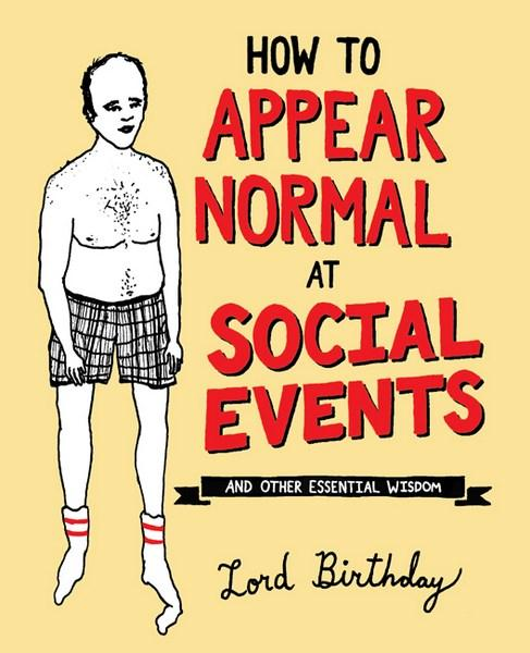 Hardie Grant Books - How to Appear Normal at Social Events - last minute gift idea - melbourne