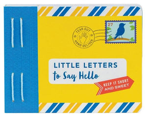 Hardie Grant Books - Little Letters to say Hello - last minute gift idea - melbourne