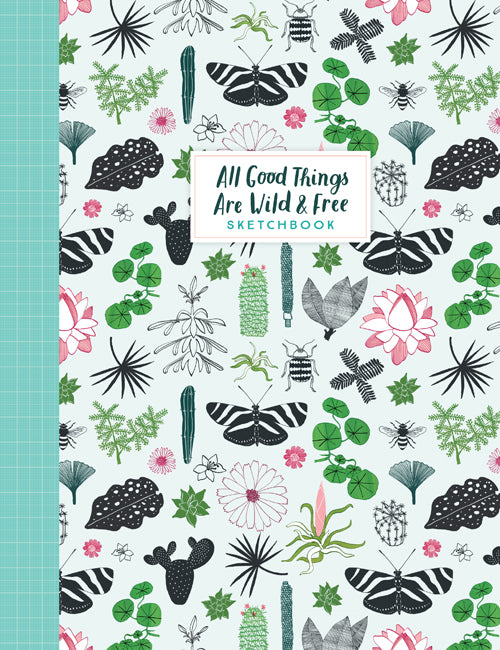 Hardie Grant Books All Good Things Are Wild and Free Sketchbook -Puzzle