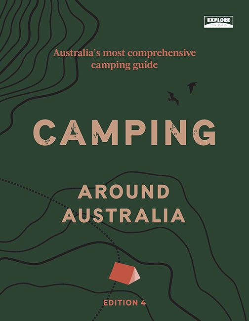 Hardie Grant Books Camping Around Australia 4th Edition -Book