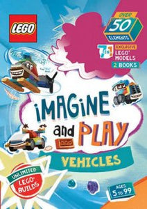 Hardie Grant Books LEGO IMAGINE AND PLAY: VEHICLES -Game