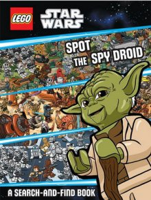Hardie Grant Books - LEGO STAR WARS: SPOT THE SPY DROID - last minute gift idea - melbourne