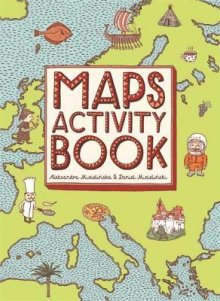 Hardie Grant Books Maps Activity Book -Book