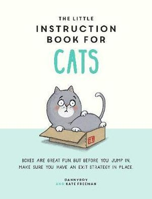 Hardie Grant Books - Little Instruction Book for Cats - last minute gift idea - melbourne