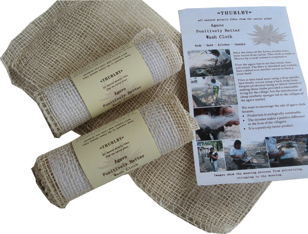 Thurlby Herb Farm Agave Wash Cloth -Wash cloth Melbourne