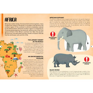 Sassi Travel, Learn and Explore - Endangered Species of the Planet 205 pcs - Pookipoiga
