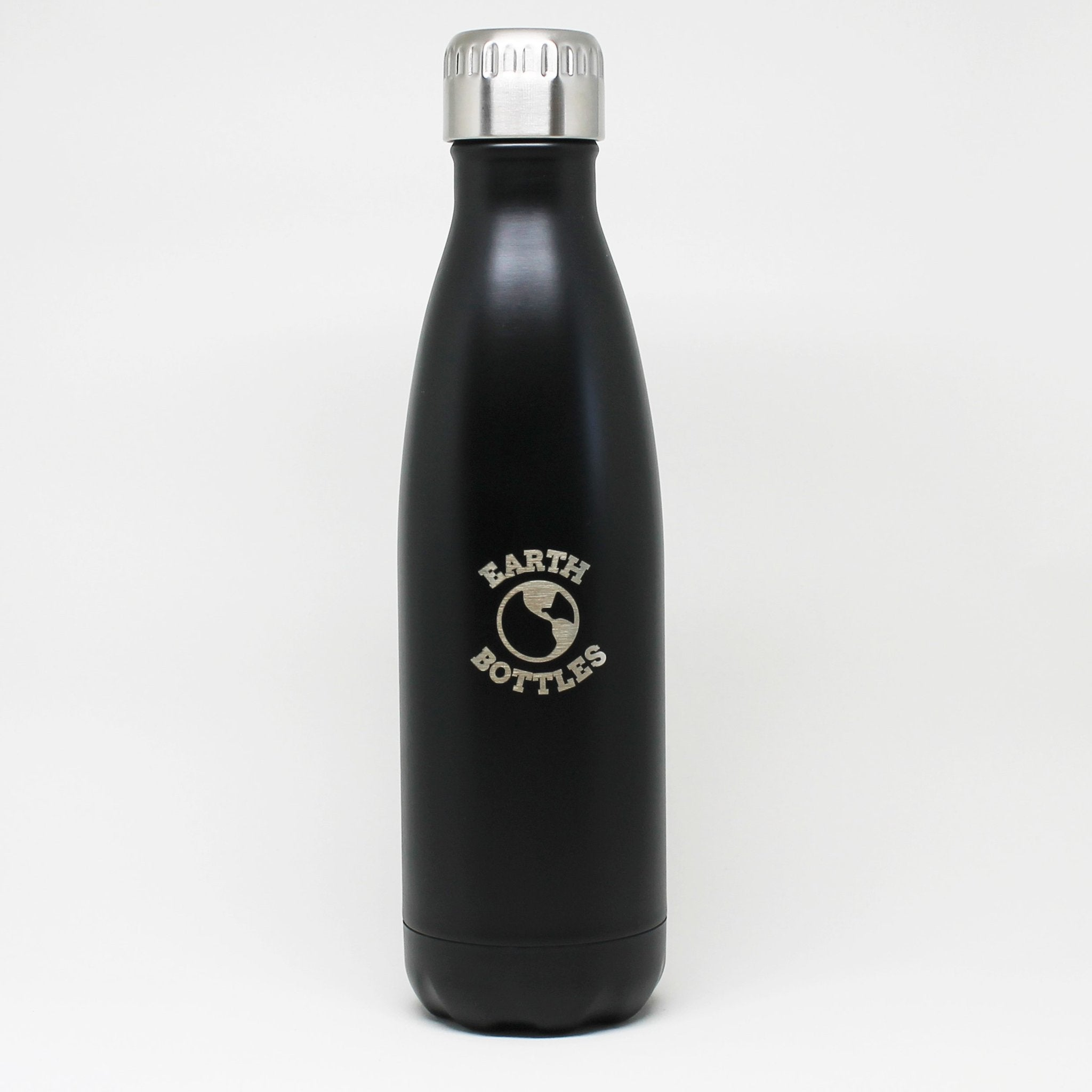 Earth Bottle Matte Black Earth Bottle -Water bottle