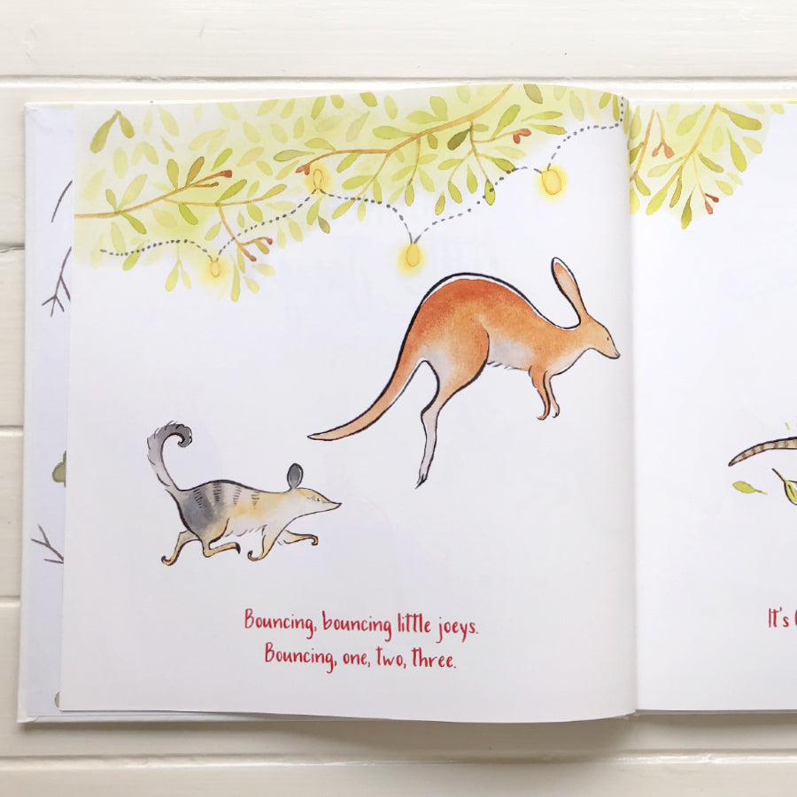 Little sister co Bouncing Bouncing Little Joeys: A Bush Christmas -Book