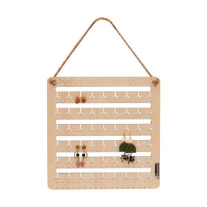 Hanging Bunny-Nose™ Earring Holder - Pookipoiga