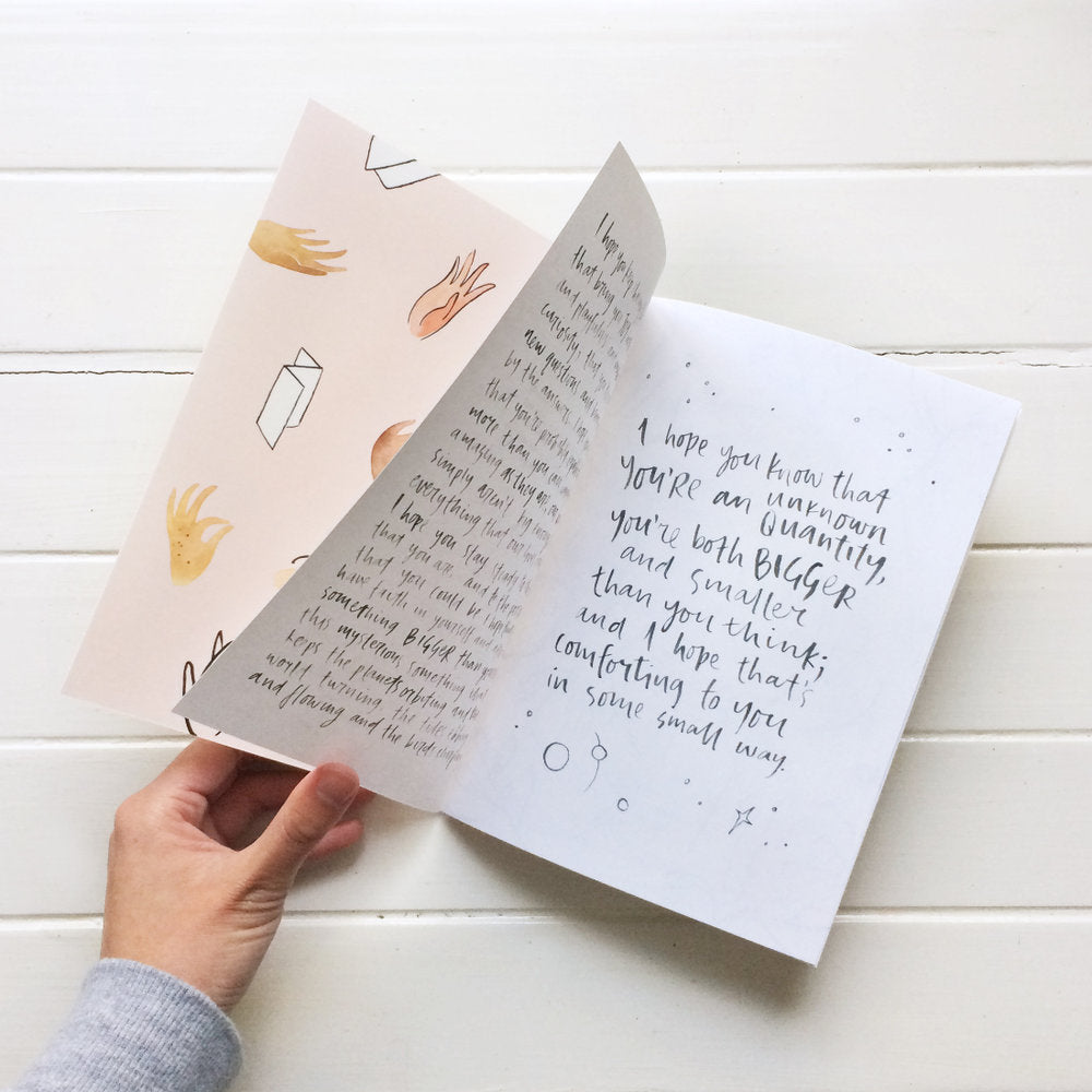 Little sister co Illustrated Letters, the book -Stationery