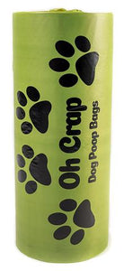 Oh Crap 300 Biodegradable Dog Poop Bag roll - Pookipoiga