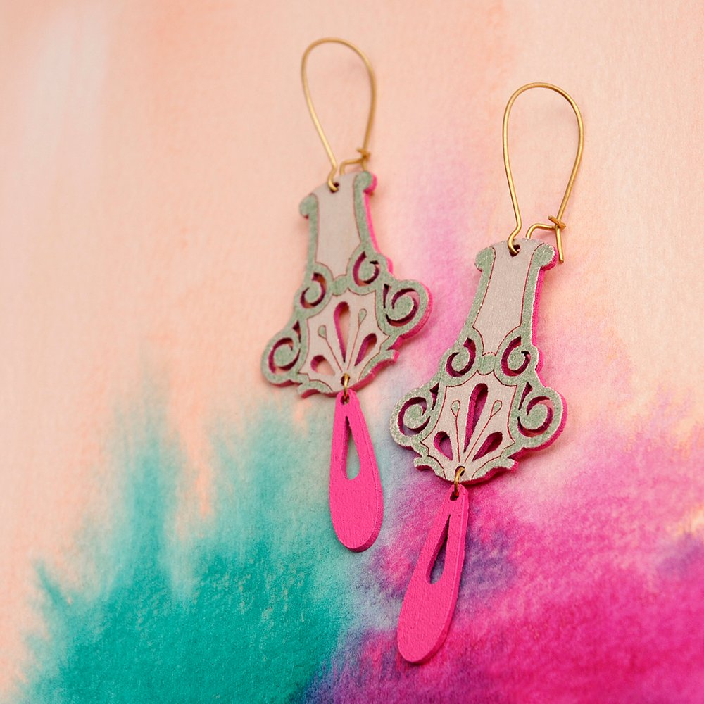 Pimelia - Dalia Earrings - last minute gift idea - melbourne