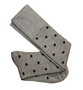 Tightology Dotty Merino Wool Socks -Socks Dotty Sand Black Melbourne