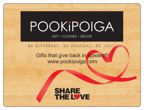 Pookipoiga Gift Vouchers -Gift Card $25.00 Melbourne