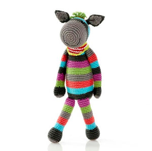 Pebble Donkey rattle -Toy