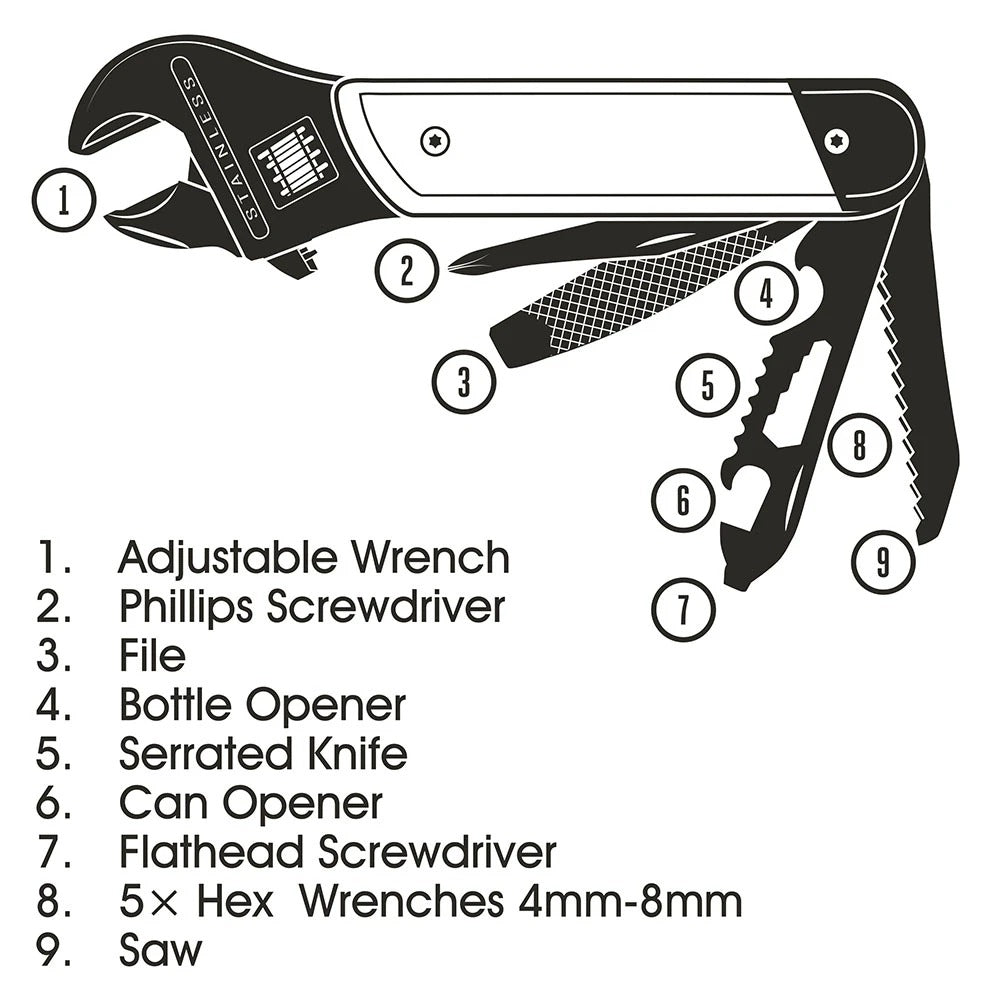 Wrench Multi-Tool - Pookipoiga