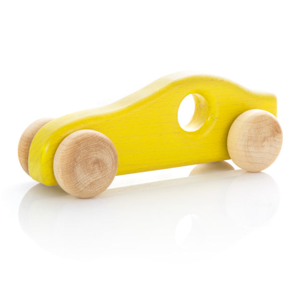 Milton Ashby Wooden Speedster -Baby Yellow Melbourne