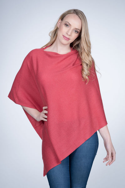 Cashmere-poncho-nine-Yaks-ethical-sustainable-clothing-fashion-pink-red-melon