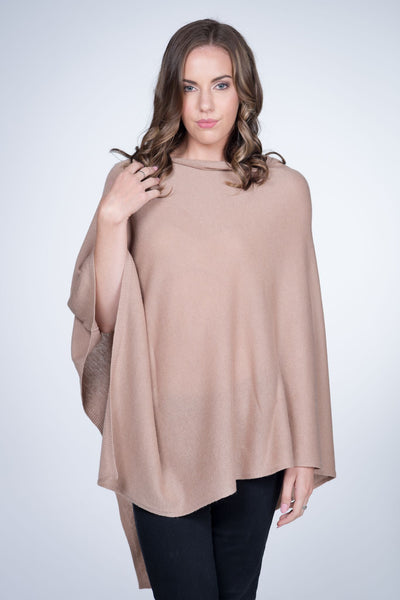 Cashmere-poncho-nine-Yaks-ethical-sustainable-clothing-fashion-sand-camel-brown