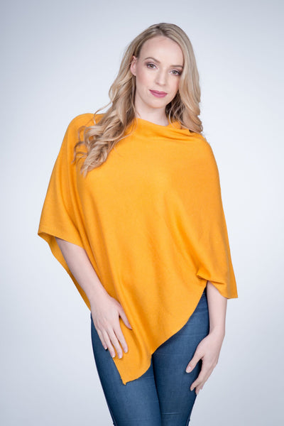 Cashmere-poncho-nine-Yaks-ethical-sustainable-clothing-fashion-yellow