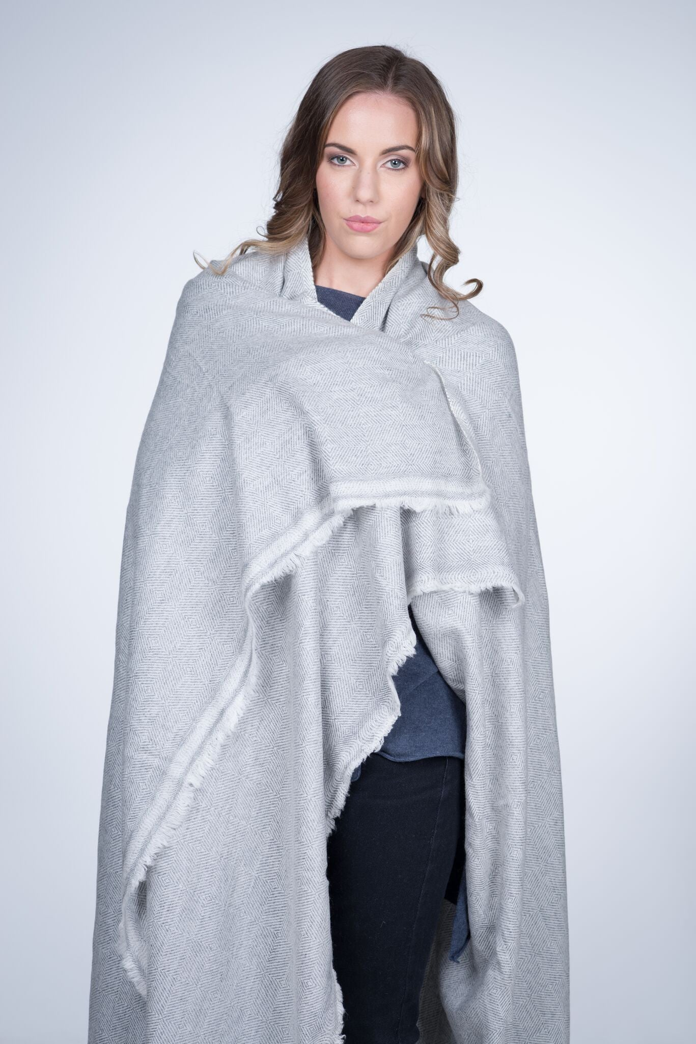 Nine Yaks Chunky Cashmere Throw -Homewares