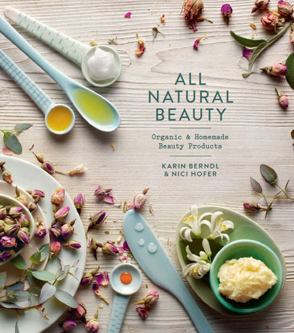 All Natural Beauty Book - last minute gift idea