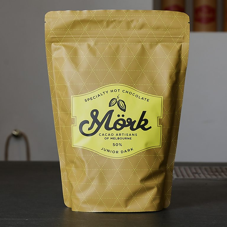 Mork Chocolate - Junior Dark Hot Chocolate 50%-1kg - last minute gift idea - melbourne