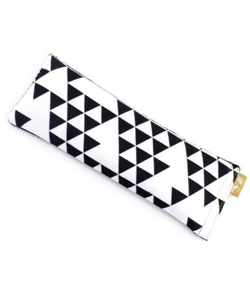 Monochrome Triangle Eye Pillow