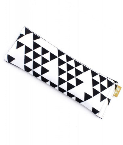 Sabine & Sparrow Monochrome Triangle Eye Pillow -Eye Pillow Melbourne