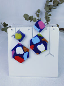 Hexagon Dangles - Pookipoiga